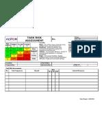 Form Task Risk Assessment