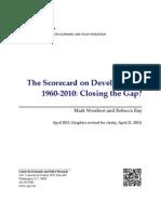 The Scorecard on Development, 1960-2010