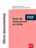 Guia de Inversiones en la India 2010
