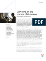 Delivering on the promise of eLearning