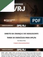 Slides Grancursos - Tarde de Exercícios DPE-RJ