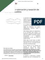 Valoración y Tasación de Bienes Inmuebles en Madrid