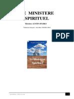 Le ministère spirituel°Théodore Austin-SPARKS°24