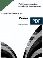 Masiani - politica cultural venezuela