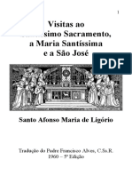 Visitas Ao Santissimo Sacramento a Maria Santissima e a Sao Jose
