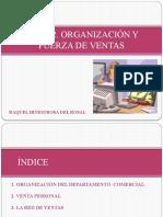 Tema 2- Organización y fuerza de ventas-Raquel hinestrosa Rosal