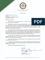 Secretary Mayorkas Letter 10-1-21