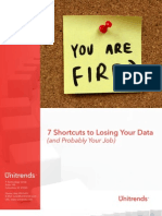 White Paper 7 Shortcuts To Lose Your Data And Probably Your Job