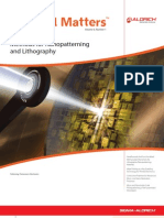 Methods for Nano Patterning and Lithography - Material Matters v6n1