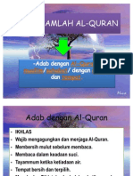 ADAB HAMLAH AL-QURAN