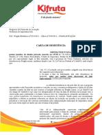 Carta de Deistencia