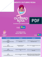 Cronograma Outubro Rosa