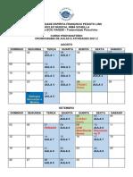 PREPARATÓRIO - Cronograma 2021.2 Alunos