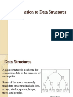 Data Structures Lists Arrays