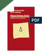 Rodrigo Alsina, Miquel - La Construcción de la Noticia [pdf]