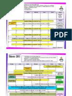 Cronograma de Actividades 2011 MiCOP