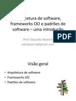 Introducao-arquitetura-frameworksOO-padroes