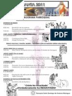Programa Parroquial Parroquia Santo Domingo