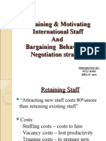 Retaining and Motivating International Staff