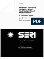 Economic Feasibility Study of Wood Gasification