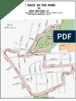 Race in Park 5K Map