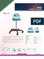 Catalogo Nebulizador CN 03 - Ingles 60Hz