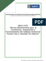 CATALOGO GENERAL DE PUESTOS