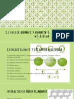 4_Enlace Quimico y Geometria Molecular