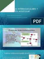 5_fuerzas Intermolecularesy Geometría