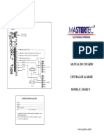 Alarme MasterTec Smart 4manualsmart4