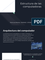 Estructura de las computadoras, María Montoya