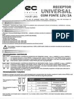Receptor UNIVERSA Ipec 0 M164 - rev-3
