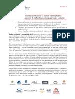 Reforma eléctrica 'lastima profundamente' la economía de México