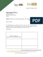 P.A.L.214-2021C (FUERO CONGRESISTAS)