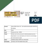 Análise dos termos processo de deterioração/processo de degradação e seus equivalentes em francês na terminologia da conservação do papel