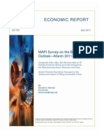 MAPI  Economic Report-April 2011