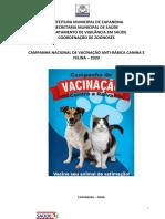 Projeto Antirabica 2020-Capanema