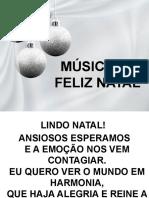 Slide Da Cantata de Natal 2019