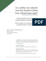 Livros e Politica Brasil e EUA