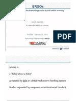 Sgouridis 2009 TED talk Energy Credits