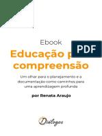 Ebook Educação para compreensão