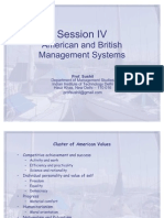 Session IV_American & British Systems