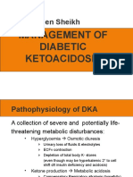 DKA Concepts and  Management