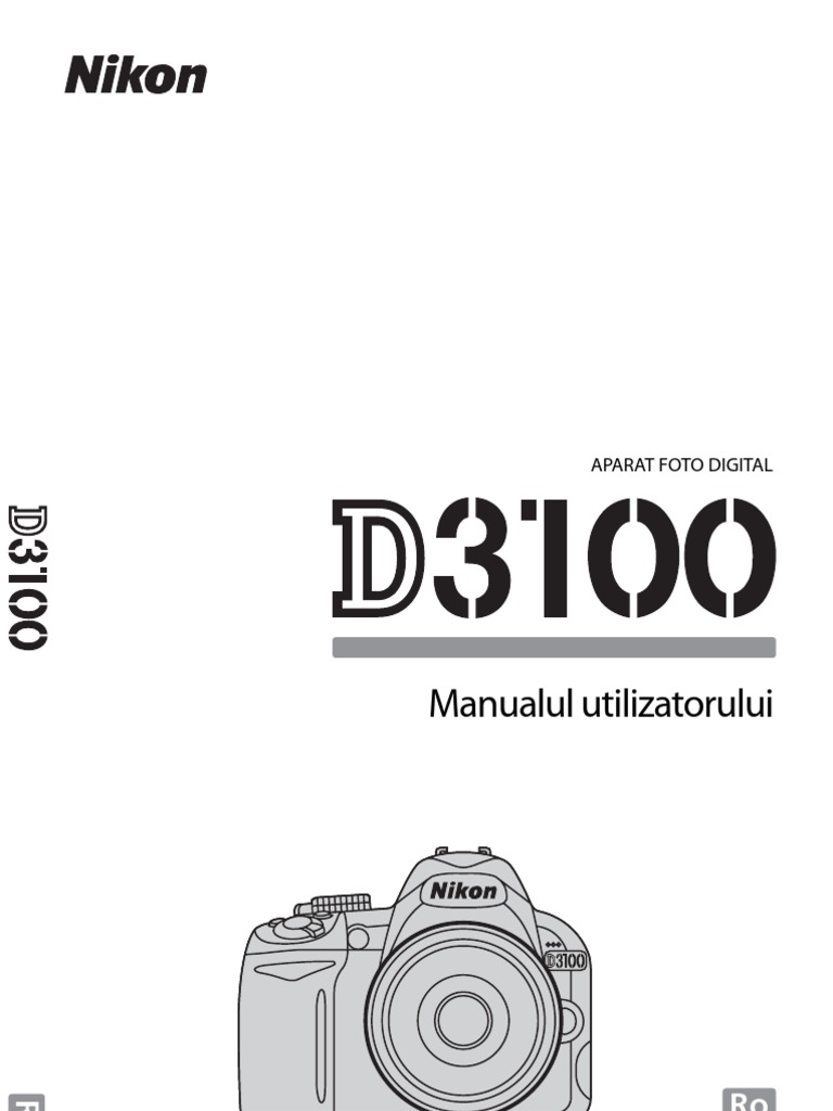 Manual+de+utilizare+Nikon+D3100