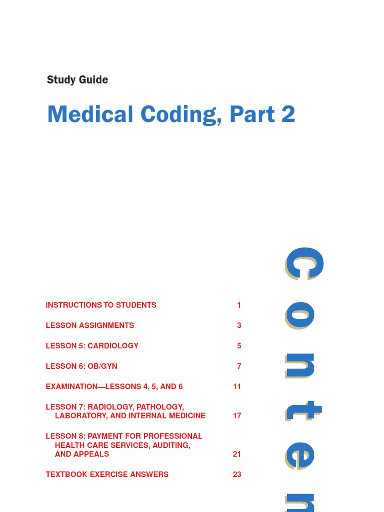 Medical Coding 1 2 Study Guide Artificial Cardiac Pacemaker Heart