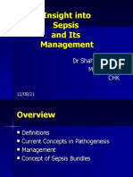 Management of Sepsis, Surviving sepsis campaign guidelines