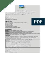 Teacher Overview MOTION