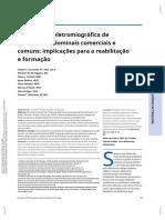 Uma Análise Eletromiográfica de Exercícios Abdominais Comerciais e Comuns e Suas Implicações Para Reabilitação e Formação