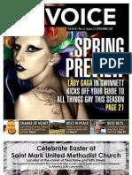The Georgia Voice - 4/15/11 Vol. 2, Issue 3