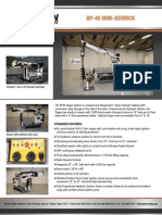 Pitman BP40 spec sheet-r5